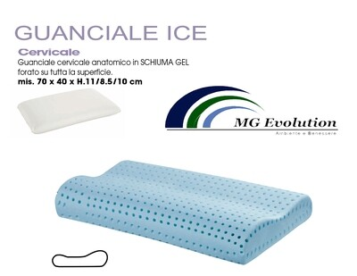 CUSCINO MEMORY ICE  anallergico per cervicale