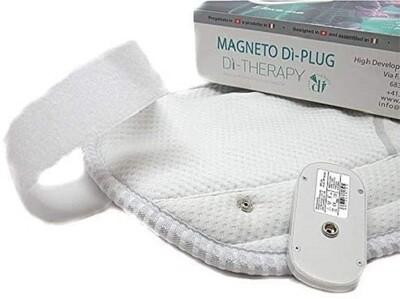 Dispositivo portatile DiPlug da magnetoterapia per accessori magnetici tessile