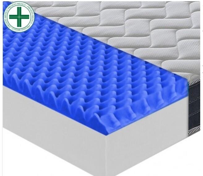 Materasso in memory foam  11 Zone differenziate MG MEDICAL