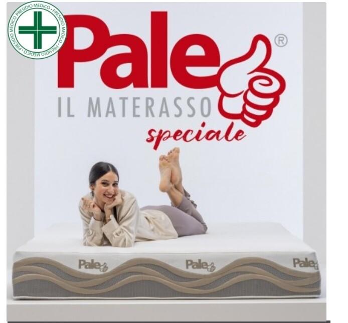 """Materasso """"Pale"""" in memory foam e micromolle con tessuto Termosensitive 9 zone"""