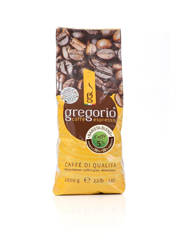 Caffè espresso gregorio 5 ½ Bohnen, Brista Blemd 1 Kg
