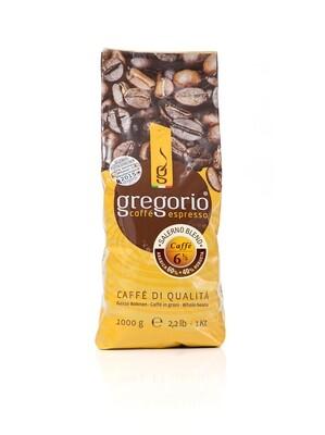 Caffé Espresso gregorio 6 ½  Bohnen 1 Kg °°°°Salerno °°°