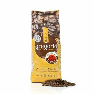 Caffé Espresso gregorio 8 ½ Exklusiv 1 Kg Bohnen