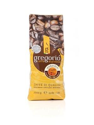 caffé Espresso gregorio 7 ½ -Bohnen 1 Kg °°°°Exquisit°°°°°
