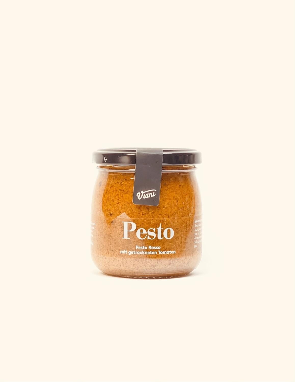 Pesto Rosso mit getrockneten Tomaten viani 180g
