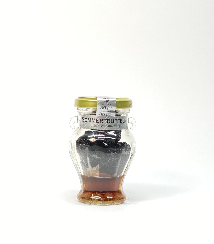 TARTUFO  ESTIVI INTERI GANZE EINGELEGTE SOMMERTRÜFFEL 25 g Glas