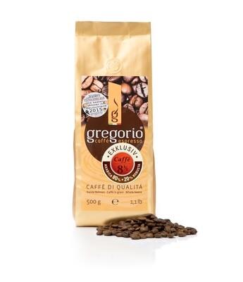 Caffé Espresso gregorio 8 ½ Exklusiv 500 g Bohnen