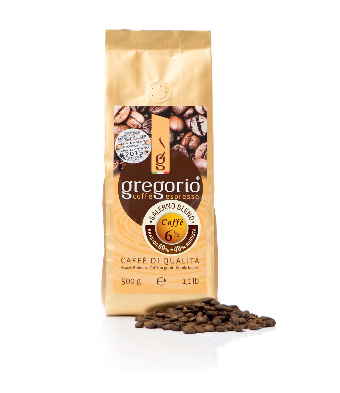 Caffé Espresso gregorio 6 ½  Bohnen 250g  °°°°Salerno °°°