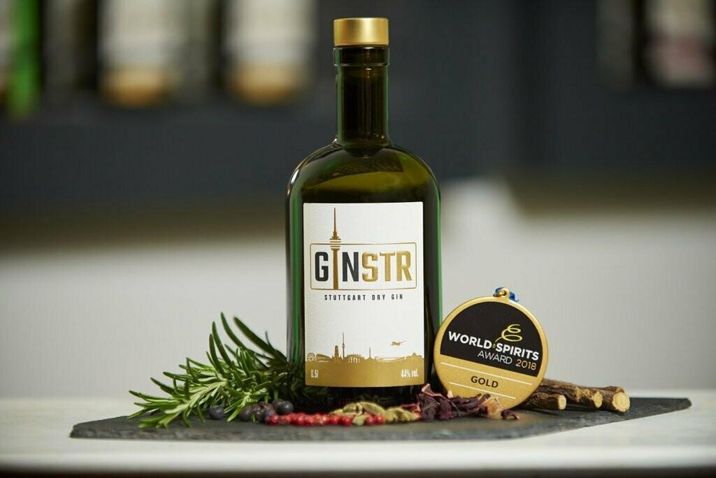 GINSTR – STUTTGART DRY GIN 500ml