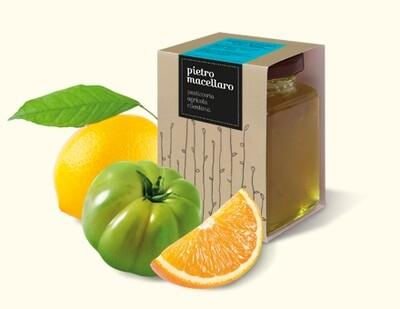 Marmelade von grünen Tomaten und Zitrusfrüchten 220 g