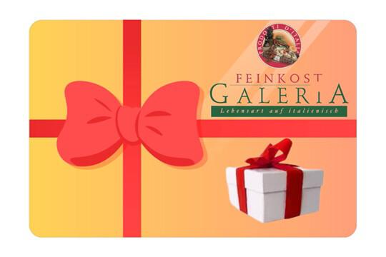 Geschenkkarte Feinkost Galeria