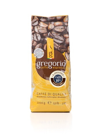 Caffè espresso gregorio® 100 ½  Bohnen,°°°° A.gregorio°°°°