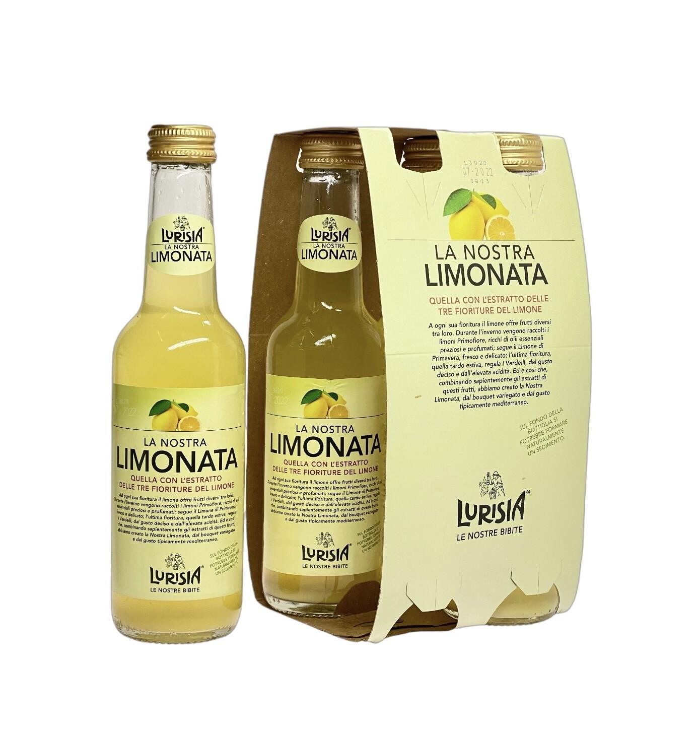 Limonata Lurisia Tre Fioriture del Limone 4 x 275 ml