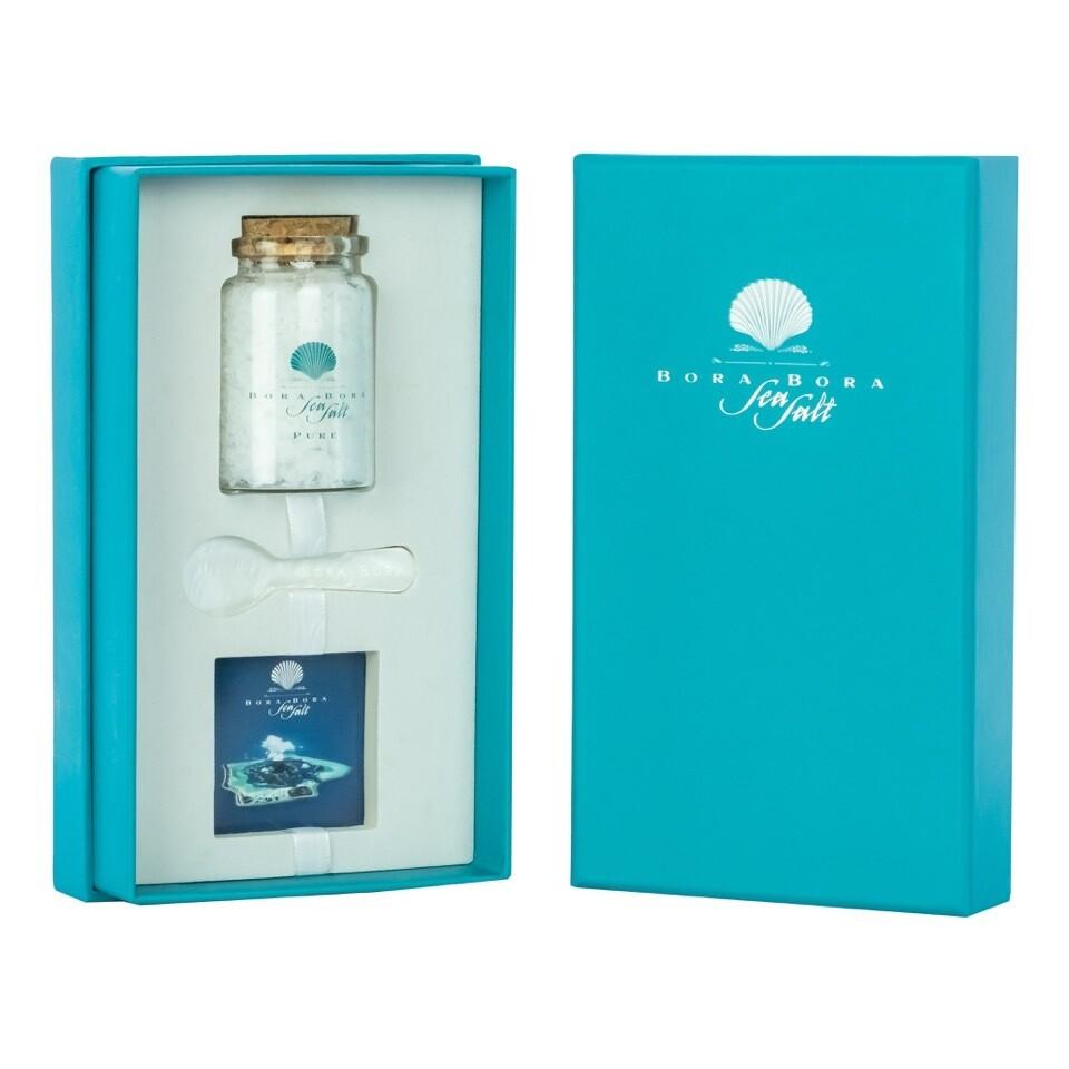 Single Geschenk Box Bora Bora Sea Salt 75g
