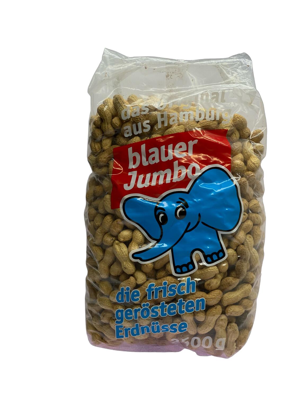 Erdnüsse blauer Jumbo frisch geröstet  2,5 kg