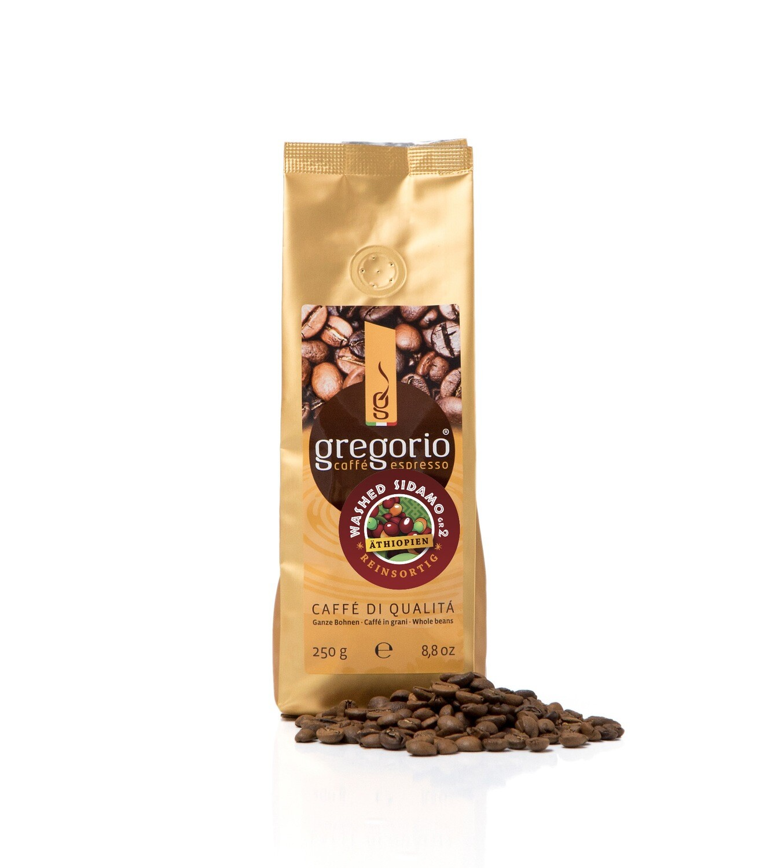 Caffè Gregorio  ReinsortigEthiopia washed Sidamo Gr. 2 .250G