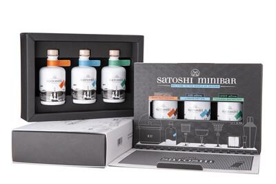 Satoshi Miniatur Set 3 x 50ml | ø 44,7 %VOL
