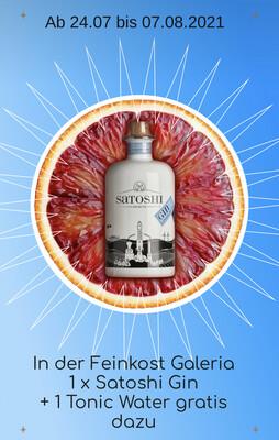 Satoshi Gin + 1 Tonic Water London Dry Gin  500ml | 44 %VOL