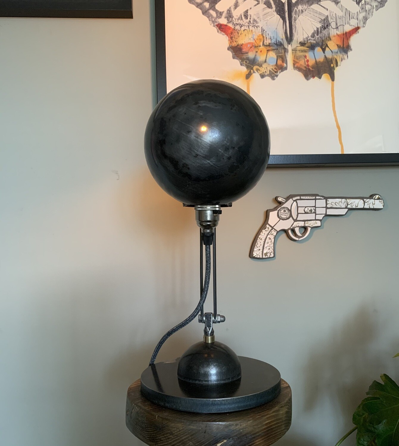 Industrial Steel Shell Lamp