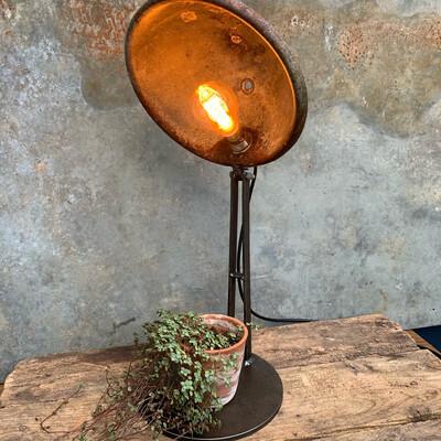 Vintage Bowl Lamp
