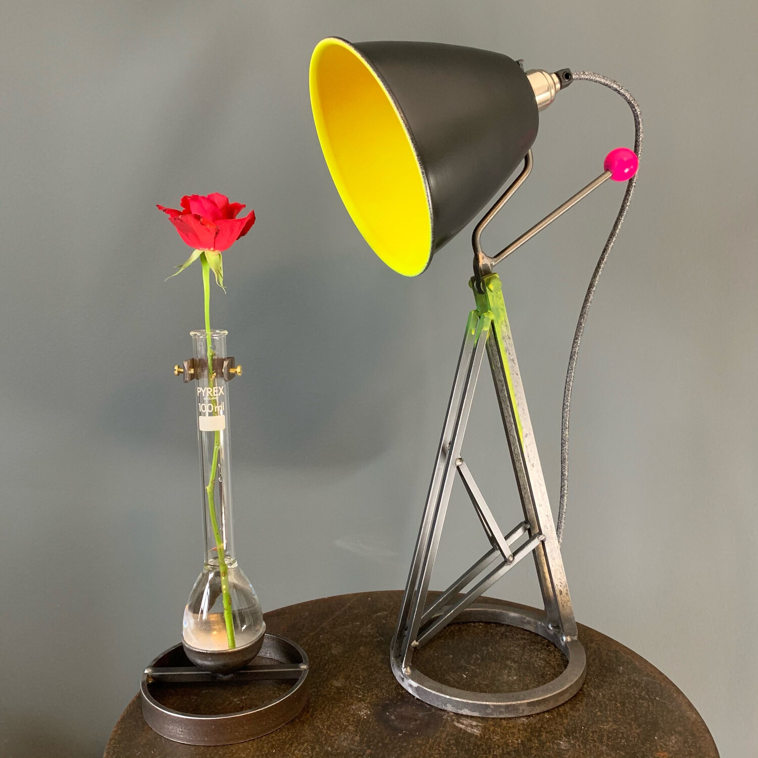 Colour Pop Industrial Desk Lamp