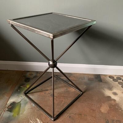 Slate Topped Side Table
