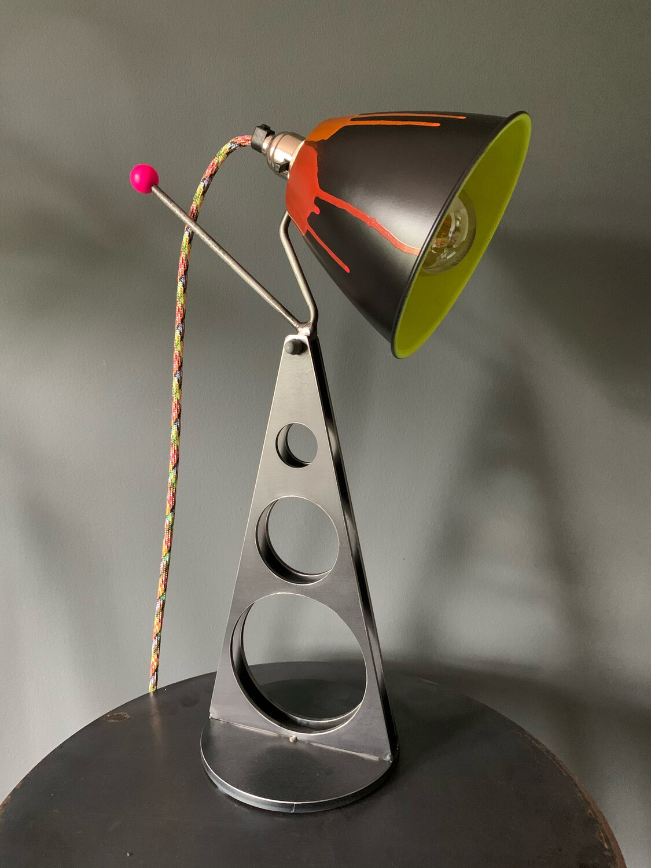 Colour Pop Industrial Desk Lamp