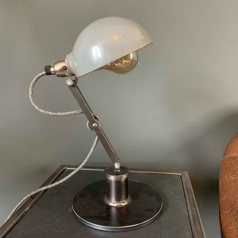 Grey Steel Shell Lamp