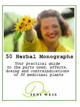 50 Herbal Monographs E-Book