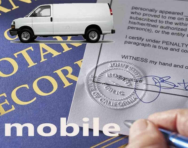 Mobile Notary - We Come to You!