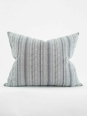 STRIPED HEMP PILLOW, 20X24