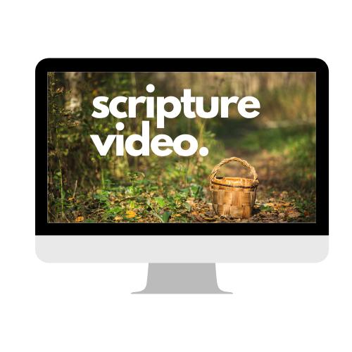 Easter Scripture Video