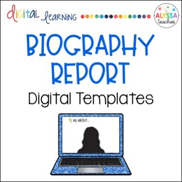 Digital Biography Report Templates