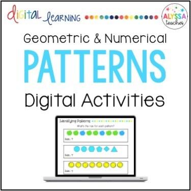 Digital Patterns Activities