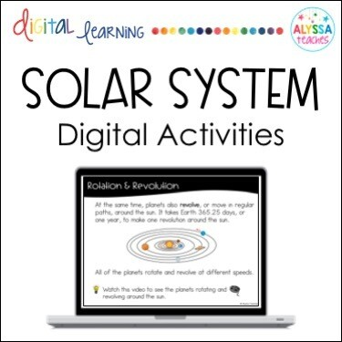 Digital Solar System Activities