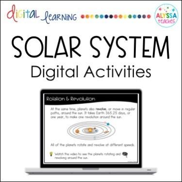 Digital Solar System Activities
