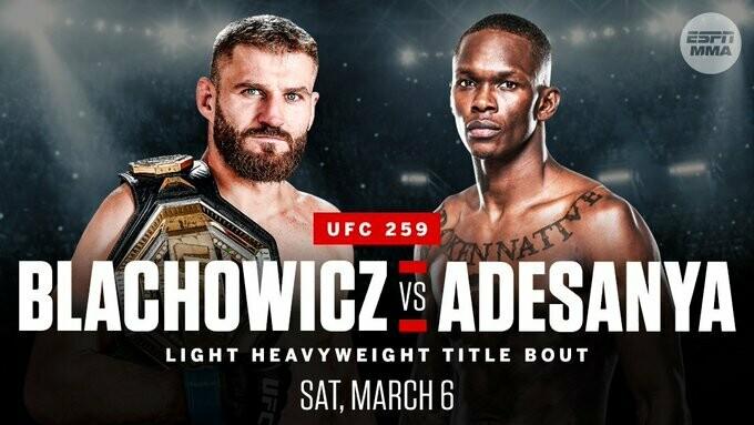 UFC 259 - Premium Card