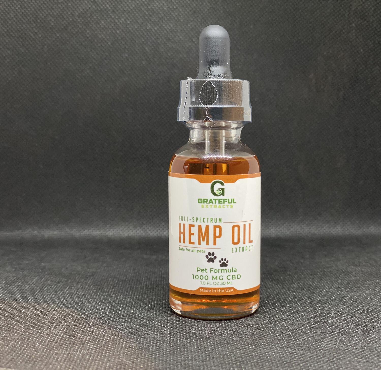 Hemp Oil- Pet Formula