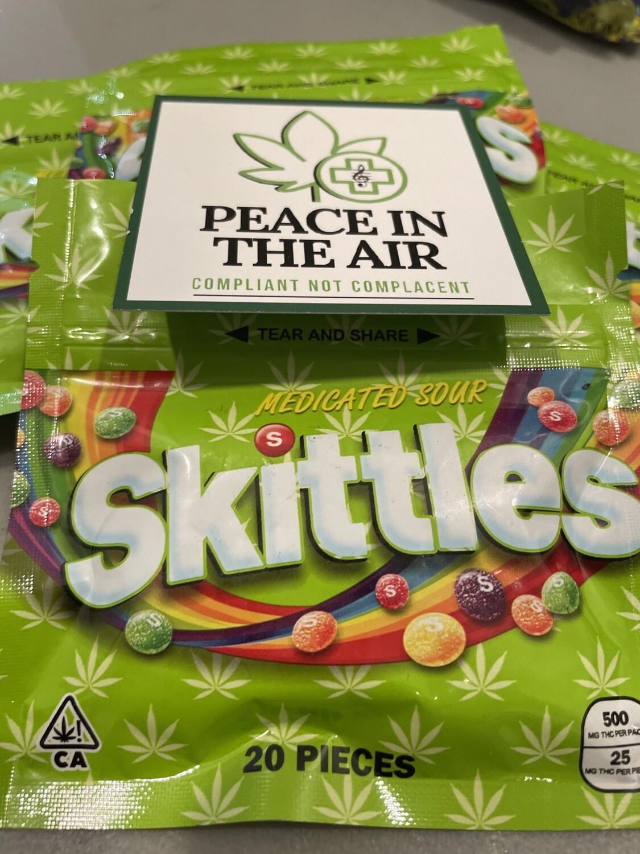Sour Skittles 500mg