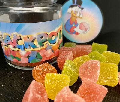 Jackpot$ Gummie Cubes