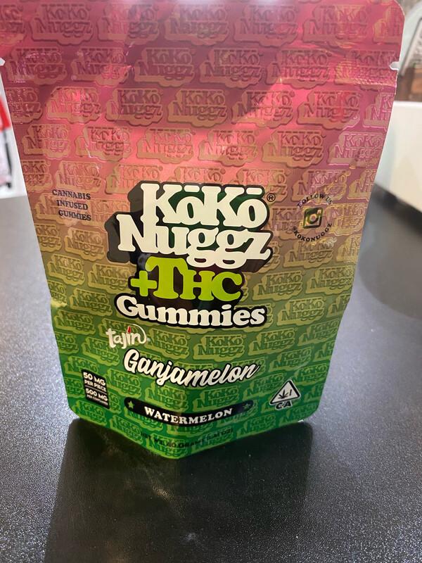 Koko Nuggz Gummies Tanji Gangamelon