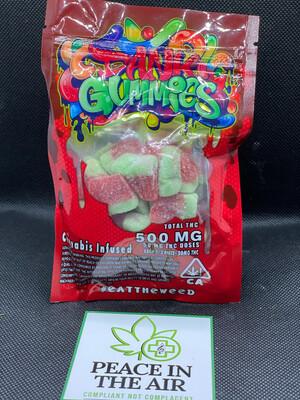 Dank Gummies Watermelon