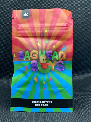 Baghead Boys Sour Gummy Cubes 400mg