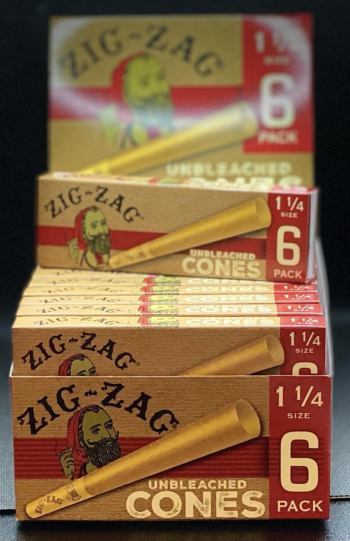 Zig Zag 1 1/4 Cones 6pack