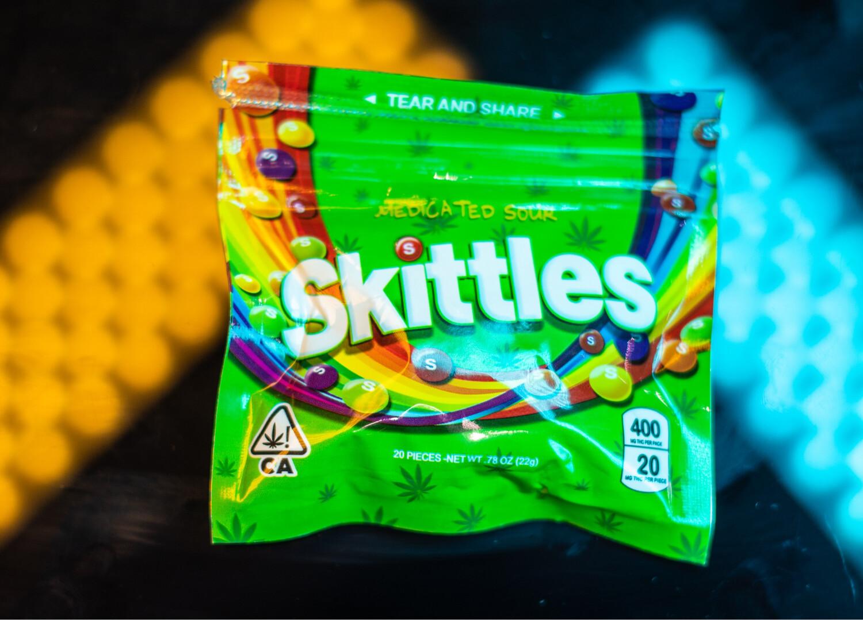 Sour Skittles 400mg