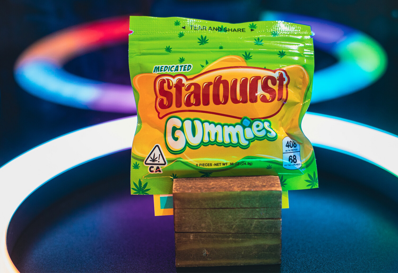 Starburst Gummies 408 MG