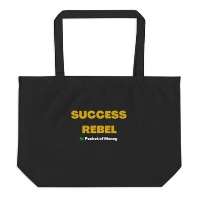 Success Rebel Large organic tote bag