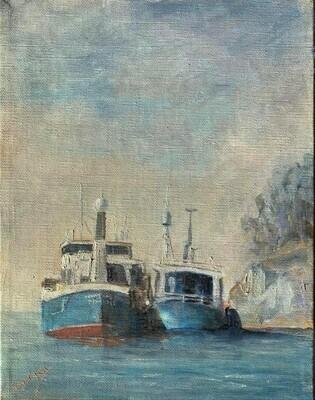 Bunkring ved Lindøya