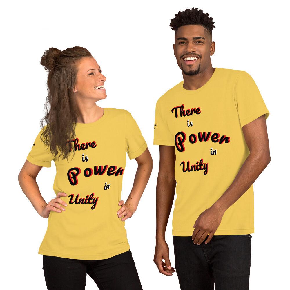 Short-Sleeve Power Slogan T-Shirt