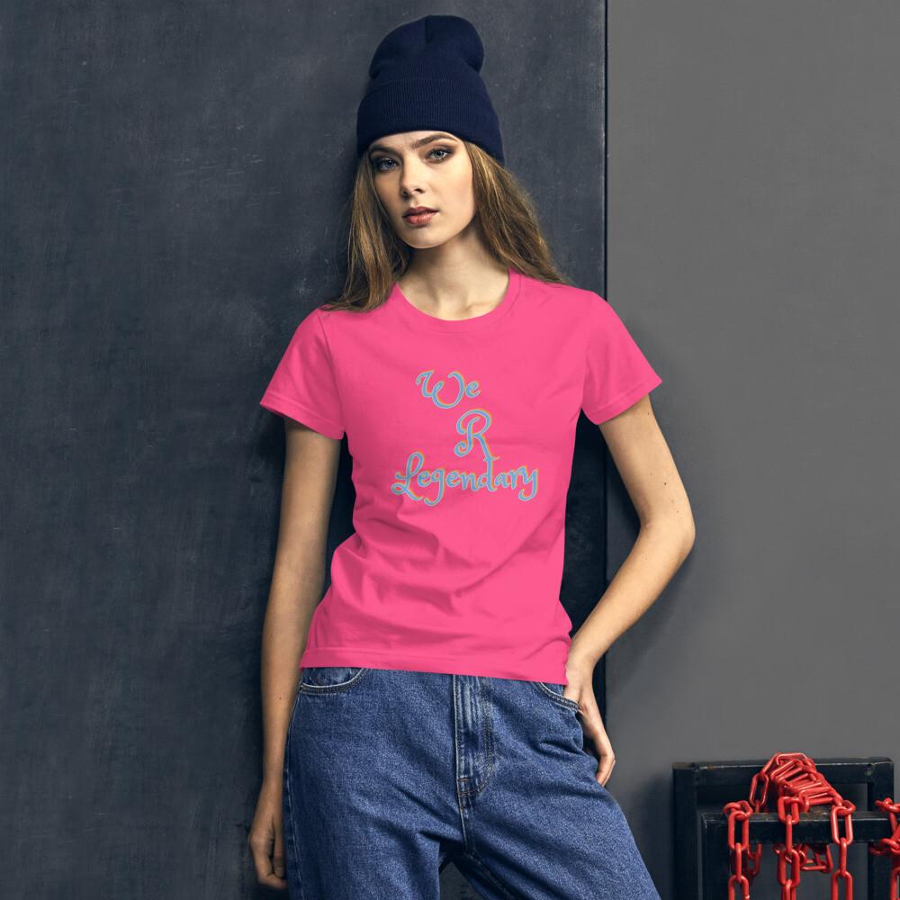 Women's We R Legendary short sleeve t-shirt